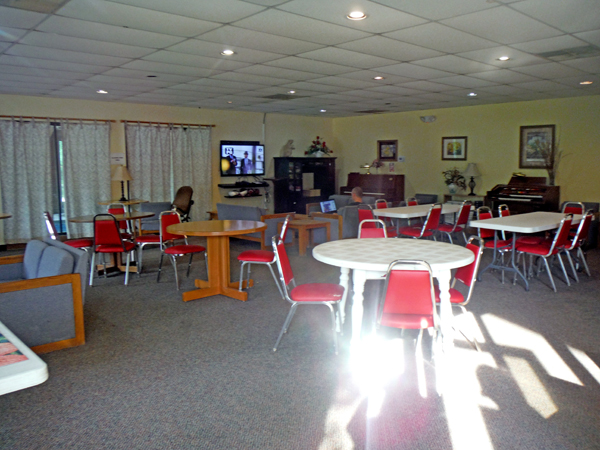 The adult lounge