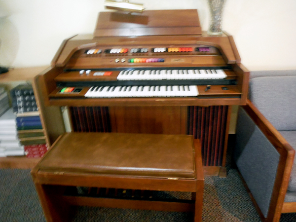 piano in the adult lounge
