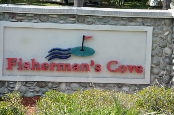 Fisherman's Cover RV Park sign