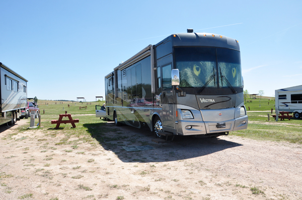 the RV of the two RV Gypsies
