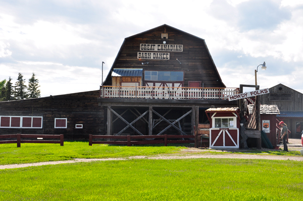 The barn dance building