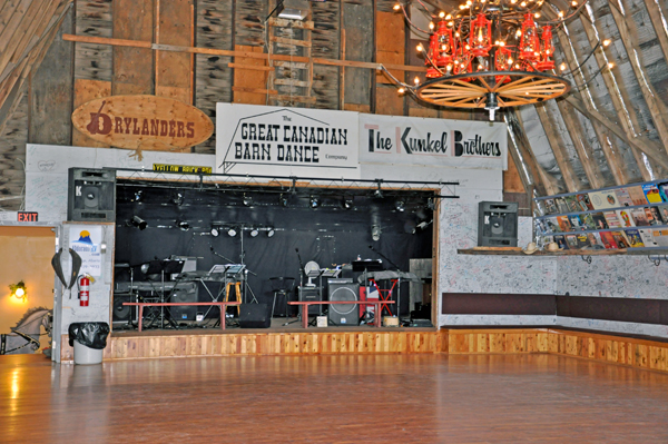 dance hall stage